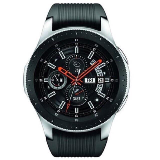 Samsung Galaxy Watch S4 Silver 46mm Garansi Internasional SG 1 Tahun