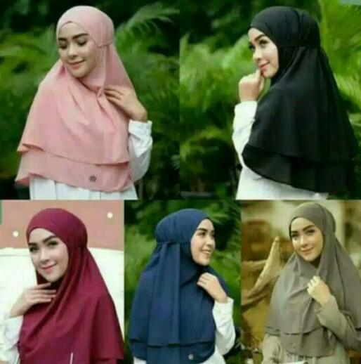 Hijab Instan jilbab instant rubiah non pad khimar tali hijab jilbab syarii
