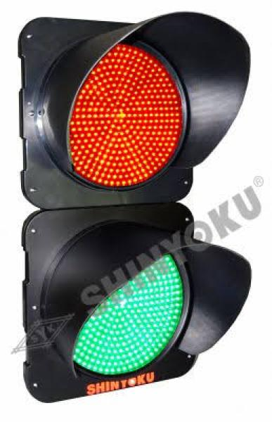 Promo   traffic light shinyoku 2 aspec red green diameter 30 cm   Original
