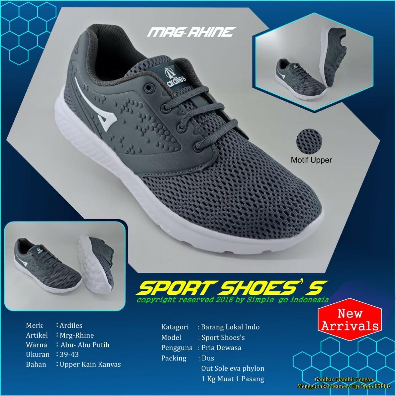 Jual Sepatu Sandal Ardiles Terbaik Kids Rosella Sneakers Biru Navy Olahraga Ringan Rhine Pria Dewasa 39 44
