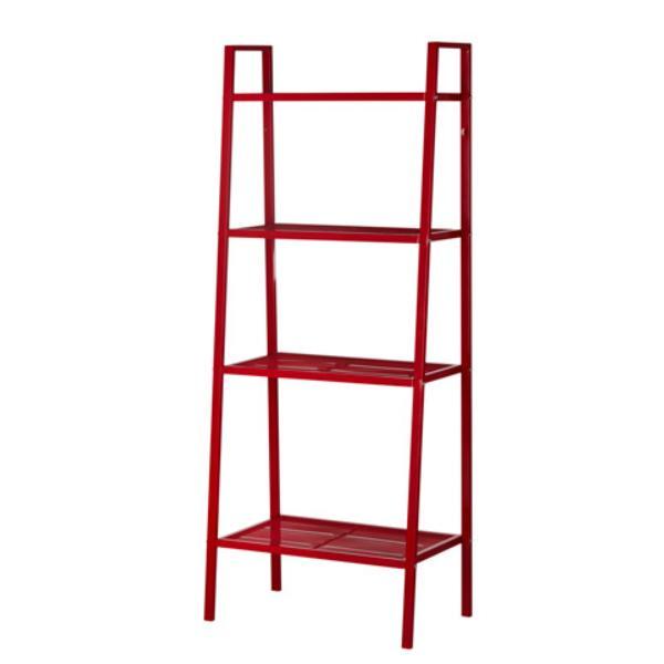 IKEA LERBERG - Shelf Unit - Rak Unit - 60x148 Cm - Merah - 1 Pc
