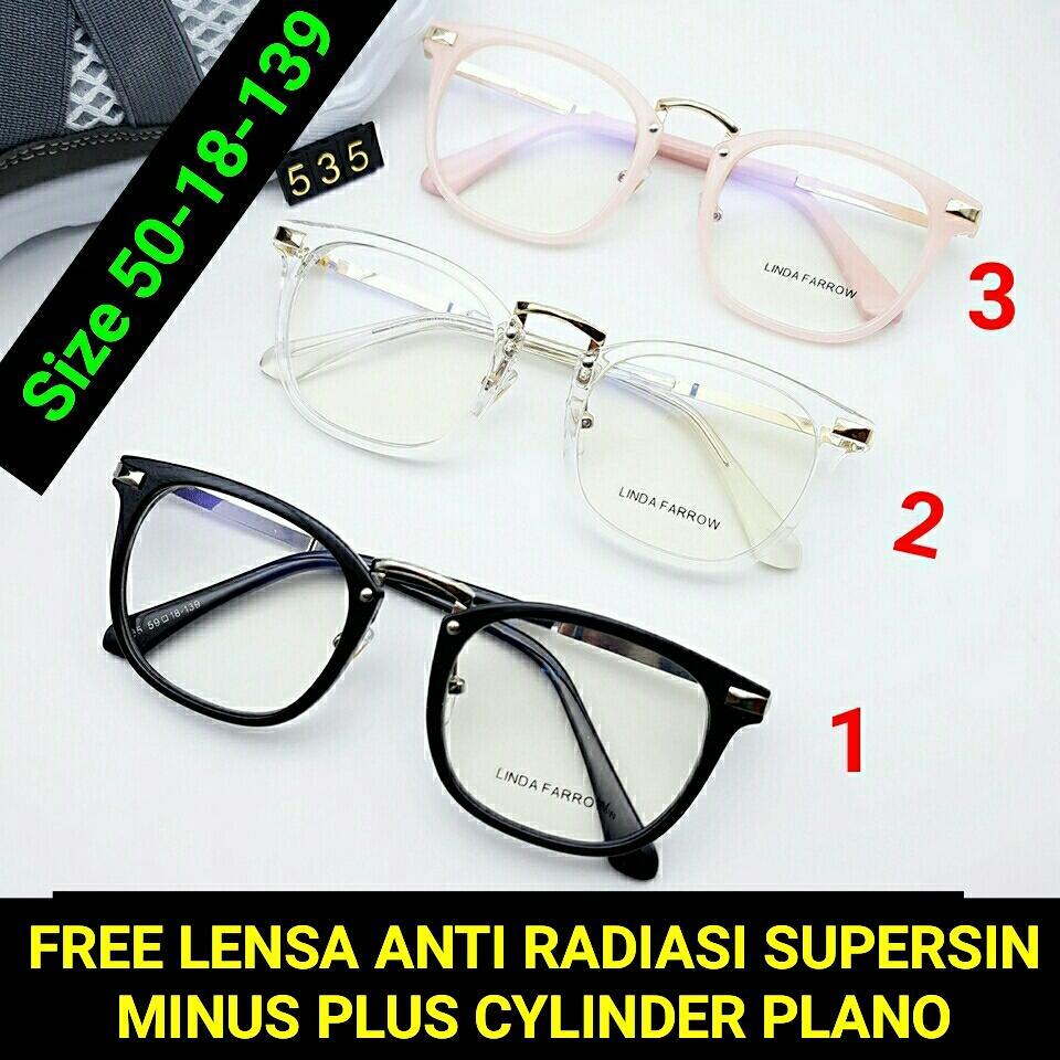Rp 125.000. Frame Kacamata 535 Kacamata baca kacamata bulat kacamata minus    plus  cylinder ... a8bf5b1c99