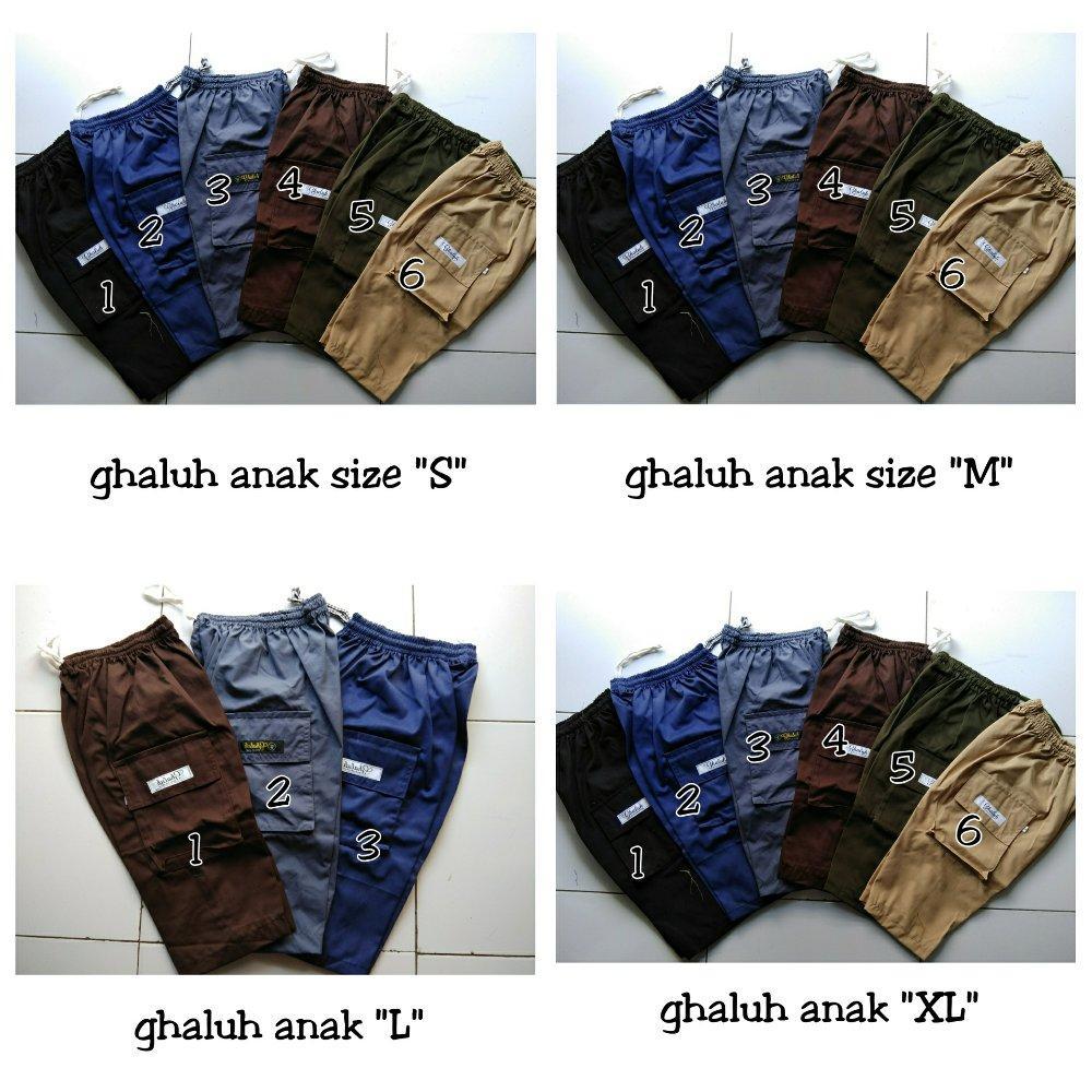 Buy Sell Cheapest Celana Sirwal Anak Best Quality Product Deals Ukuran M L Xl Murah Laa Isbal