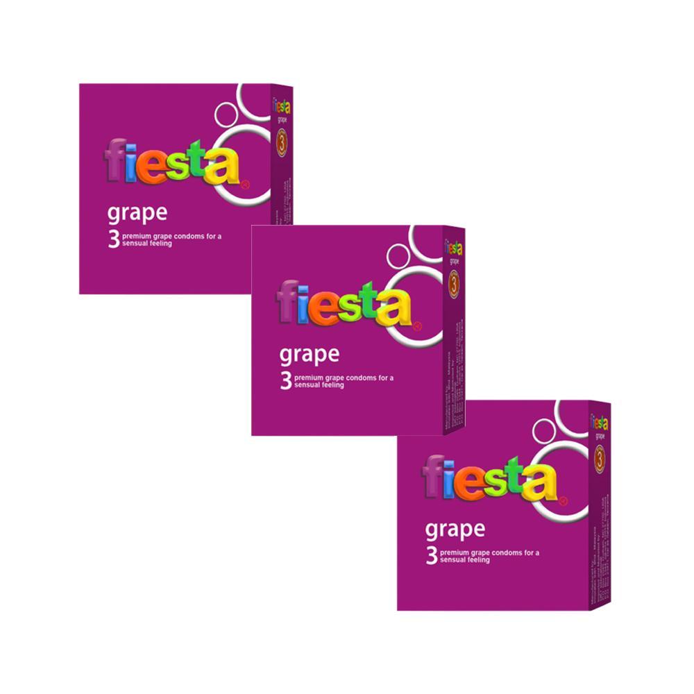 Jual Fiesta Strawberry Lubricant 70 Ml Pelumas Gel Pengganti Cairan Delin Store Grape 3 Box Kondom