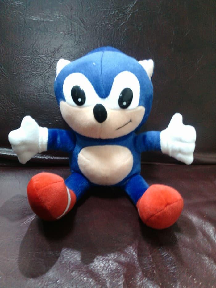 boneka Sonic the Hedgehog 30 cm murah