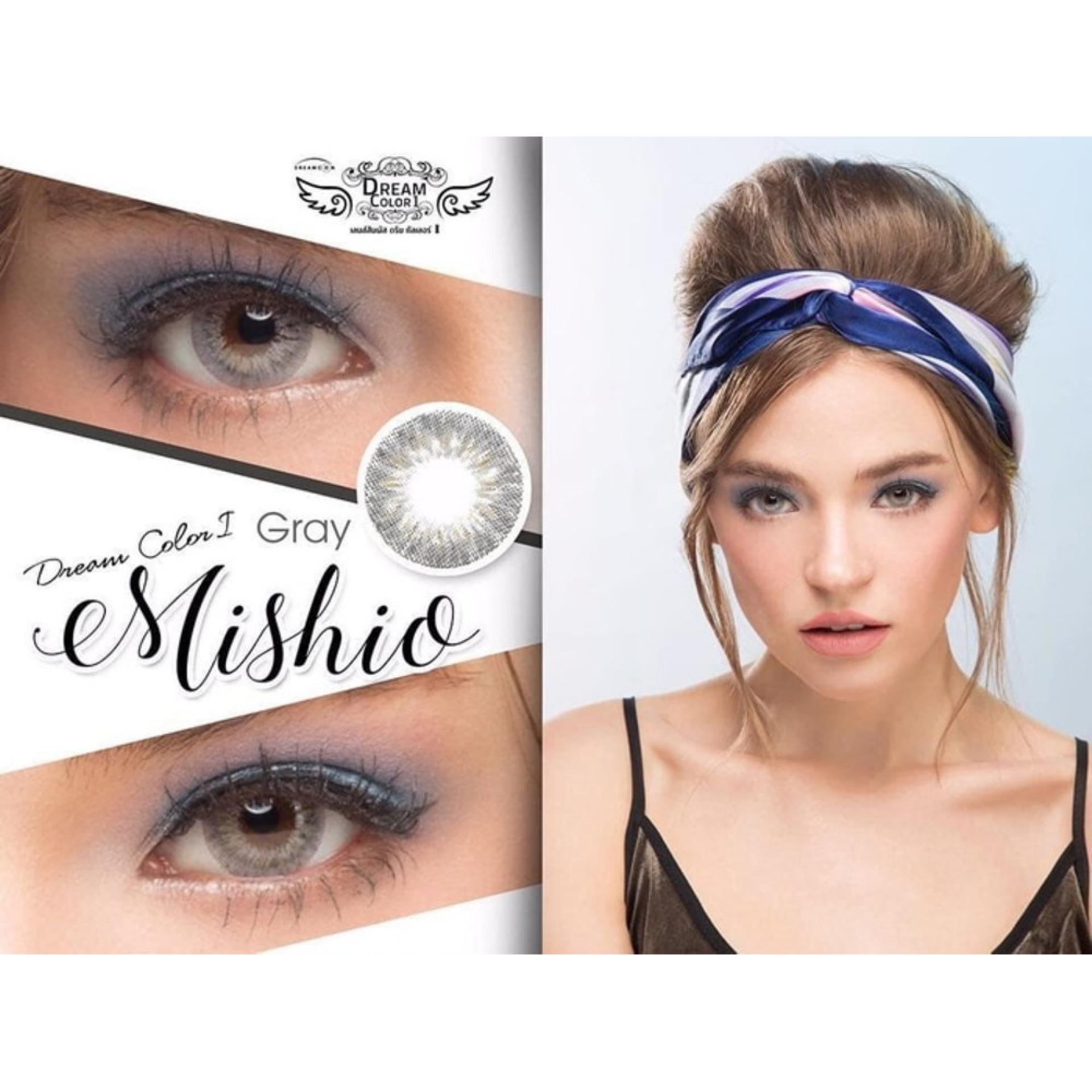 Mishio Softlens Dream Color + Free Lenscase - Gray