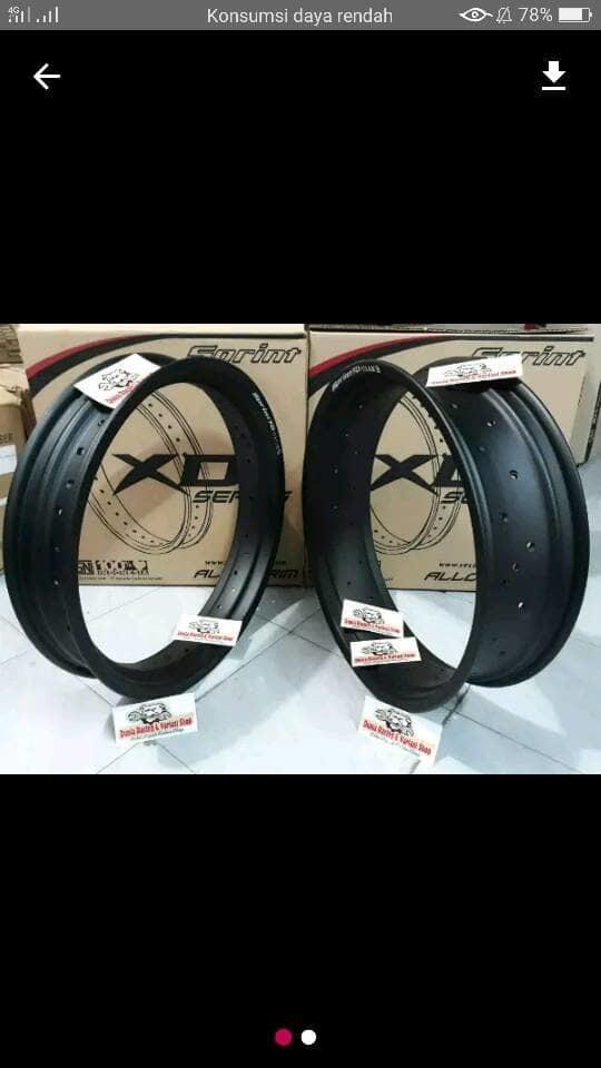 Velg tapak lebar ring 17 ukuran 250 dn 300. Source · Velg Lebar 300 450 Rossi Sprint Xd