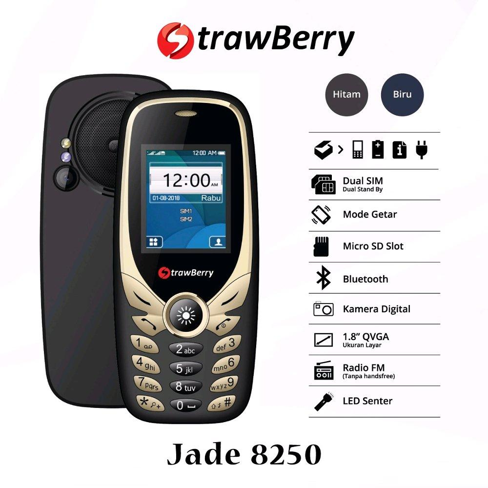 HP Strawberry Jade 8250 Mirip Nokia 8250 - dual sim - Radio FM / Hp unik / hp murah