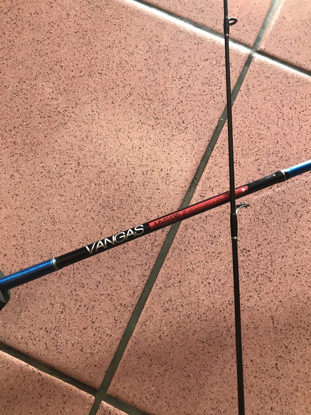 Joran maguro vangas 135cm  TERBARU BOS PANCING zerya_fishing