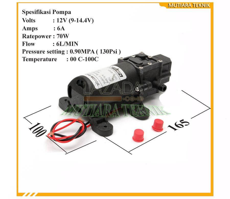 ... Source · POMPA DC 12V. POMPA DC 12V. Pompa Diafragma Tekanan Tinggi 130psi 6 ...