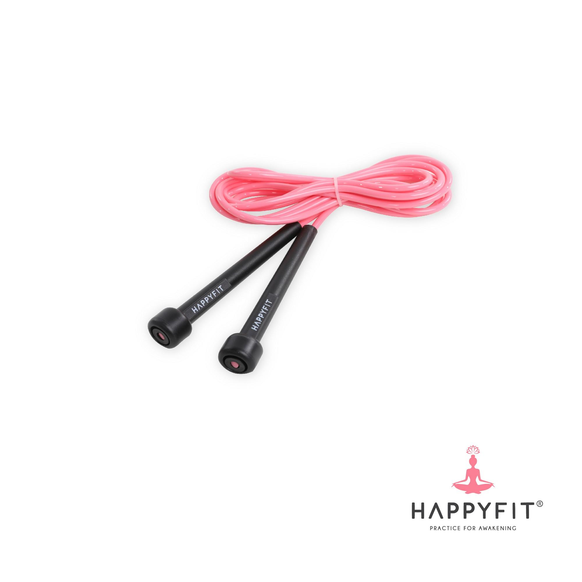 HAPPYFIT JUMP ROPE / LOMPAT TALI - Pink