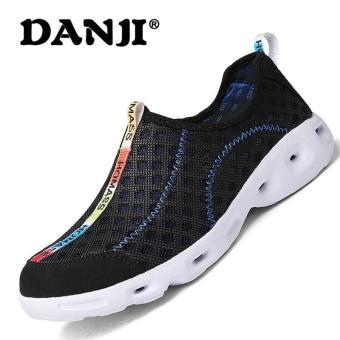 Harga preferensial Danji Sepatu Musim Panas Mendaki Pria Wanita Sepatu Air  Yang Berbeda Warna Air Sneakers e2f4ff54c5