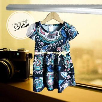 Price Checker Dress Kids - Fashion Anak Wanita - Model Garis pencari harga  - Hanya Rp21 18a33bd833