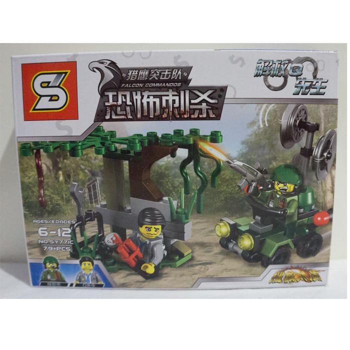 Lego Militer Falcon Commandos - SY 771C