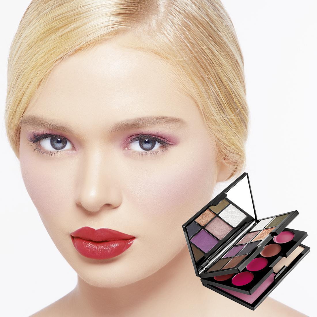 Jual Kuas Aplikator Make Up Tas Kosmetik Mata Pouch Eye Dompet Karakter Lucu Unik Brunbrun Paris Ultimate Beauty Palette