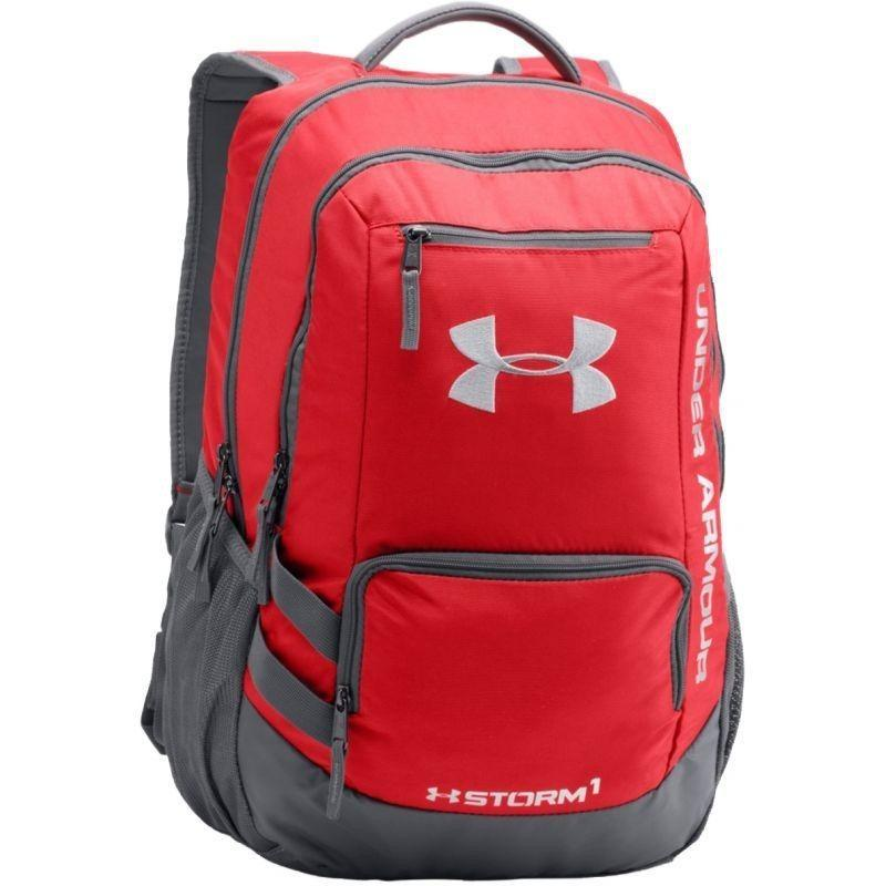 Under Armour Original Ransel Hustle Storm Backpack Ii - 1263964-600 - Merah By Sarangsepatu.