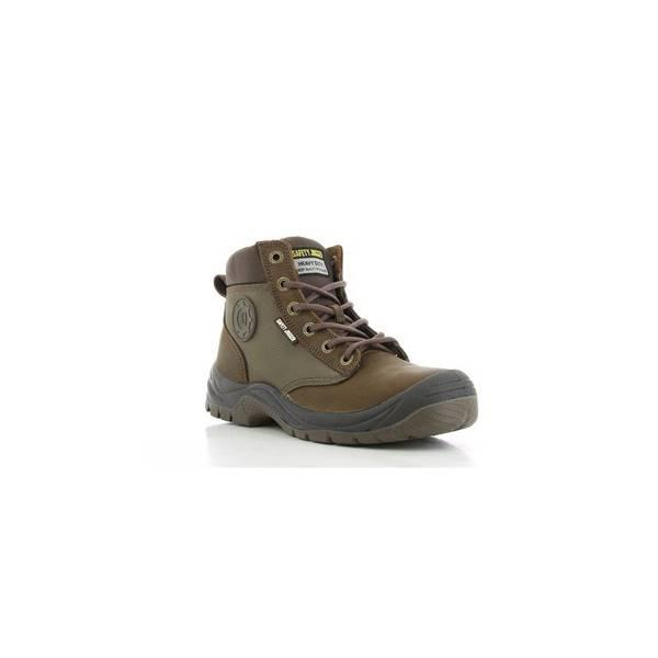 Sepatu Safety Jogger Dakar Brown S3 Original Safetyjogger Shoes