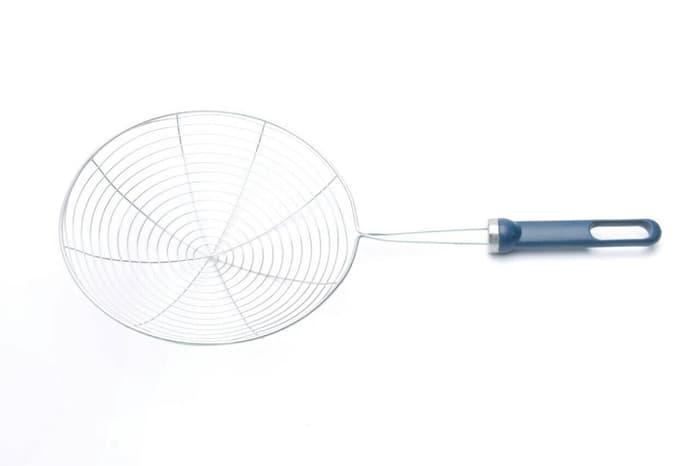 Saringan parabola/Saringan mie/Saringan goreng/Serok 18cm