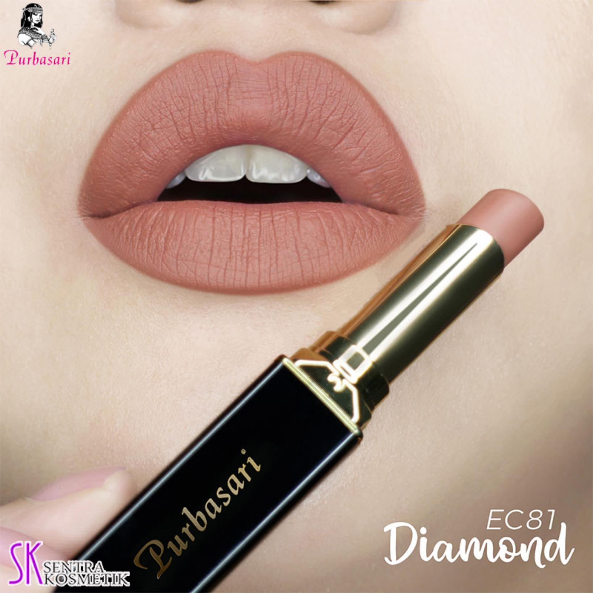 Purbasari Lipstick Collor Matte 81 DIAMOND