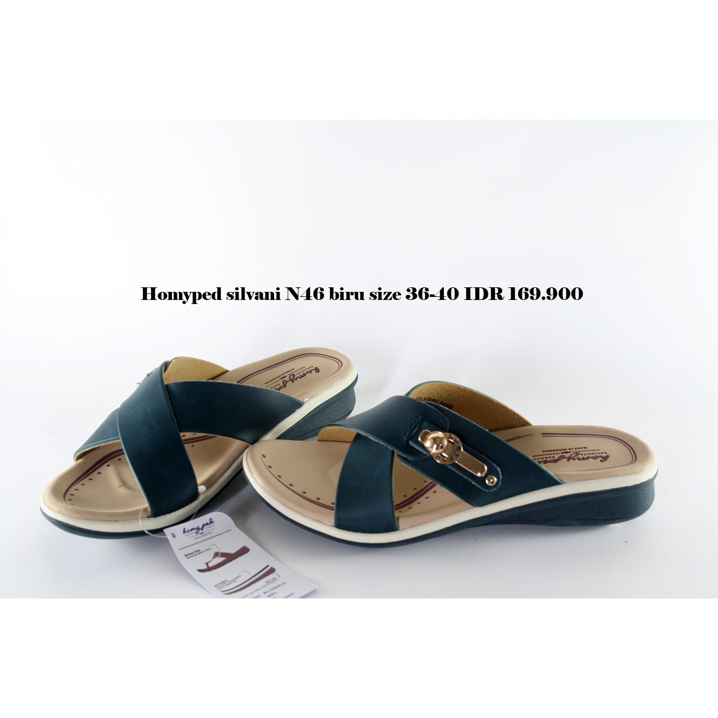 homyped n46 sandal wanita navy