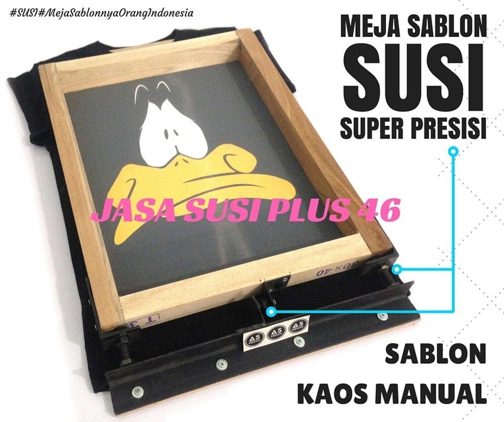 MEJA SABLON SUPER PRESISI ORIGINAL PLUS 46