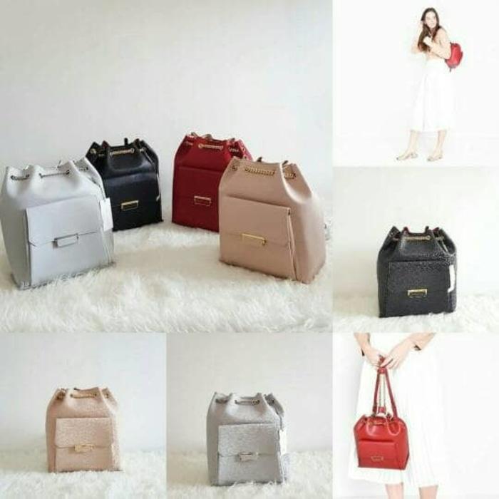 PROMO!!! TAS WANITA IMPORT CK121 BACKPACK BAG ORIGINAL BRANDED - Se2h8K