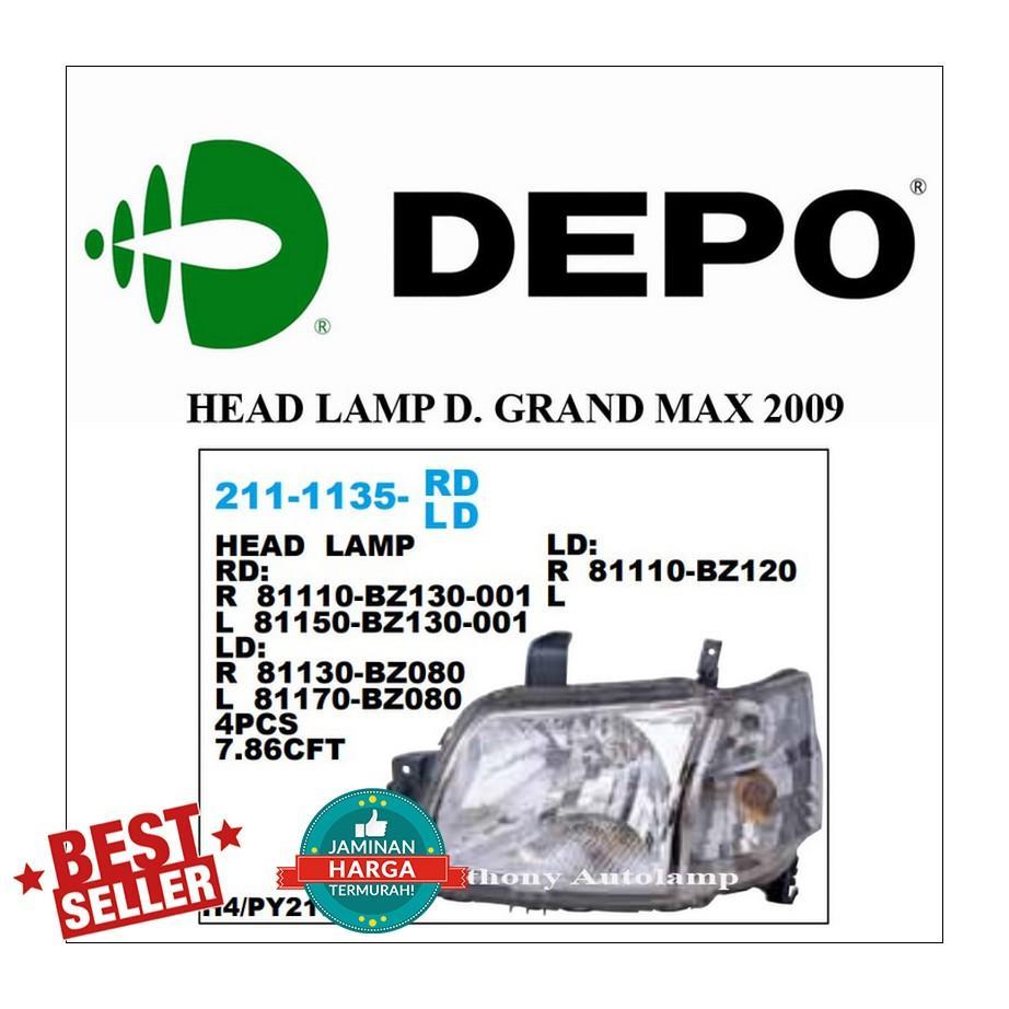 Katalog Packing Head Daihatsu Taruna 2018 Lamp Granmax Grand Max 2009 Lh
