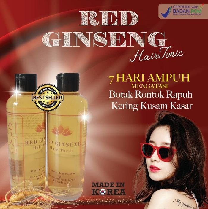 PROMO [BPOM] Red Ginseng Hair Tonic BPOM Original / 275ml TERLARIS