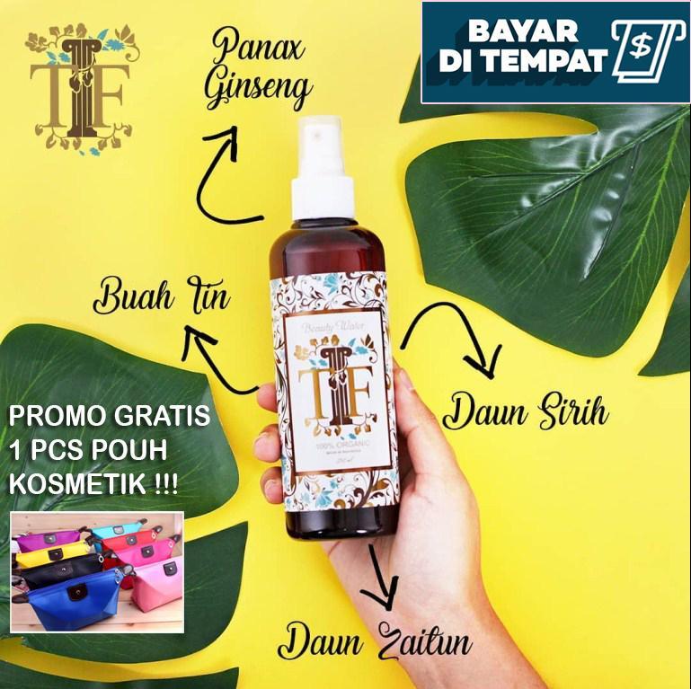 Obat Jerawat Alami Paling Ampuh Dan Terbukti Manjur / Tlf Beauty Water Organik / Tf Miracle Water By Dewi_onlineshop.