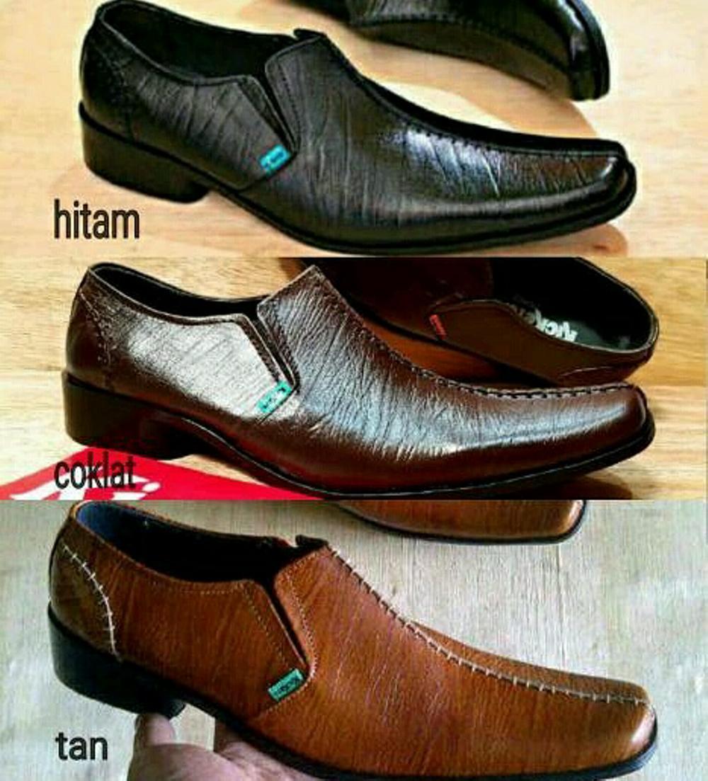 Promo Sepatu Pantofel KICKERS Low Kulit Asli Formal Kickers Kantor Pria #kerja#bally#clarks#crocodile#pesta Fashion