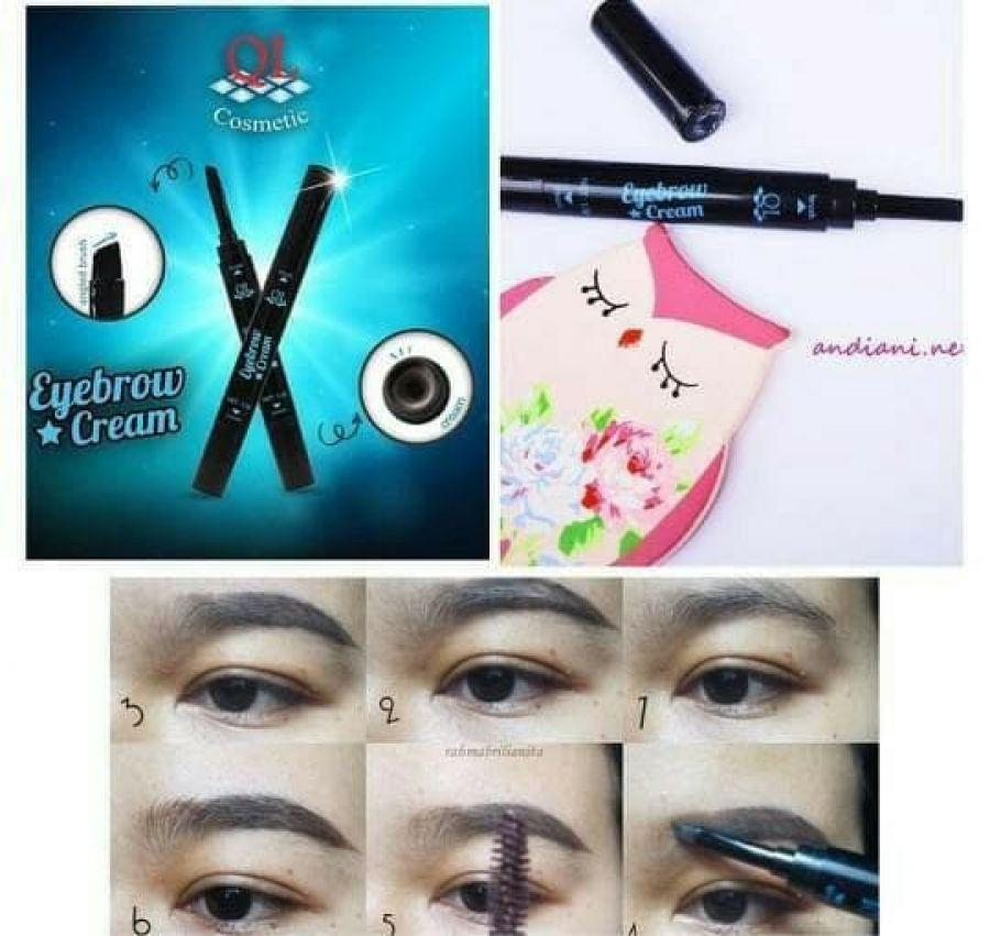 Eyebrow Cream QL - Pensil Alis Paling Laris