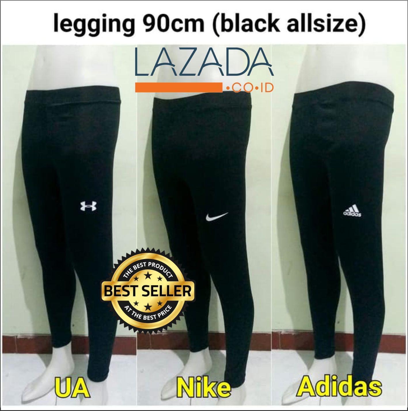 Celana Legging Panjang Pria sport Gym Fitnes - premium quality