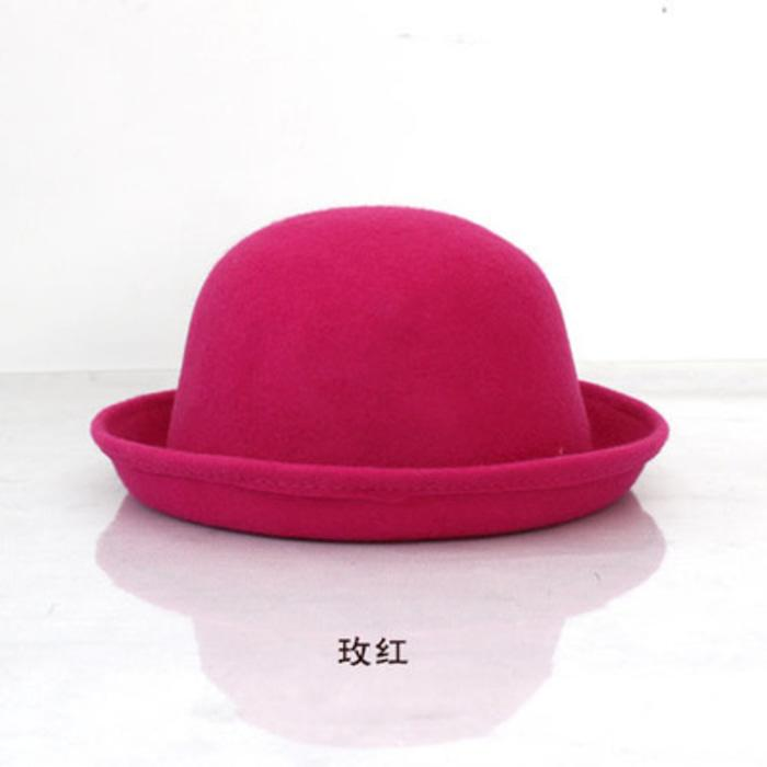 OILA Topi Wanita Korea Wool Dome Small Hat Lady Jto021 54f9e8fcb5