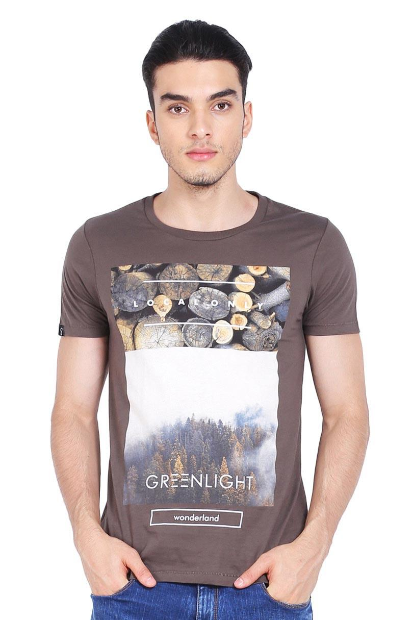 Greenlight T-Shirt Kaos Pria Men Tshirt Green