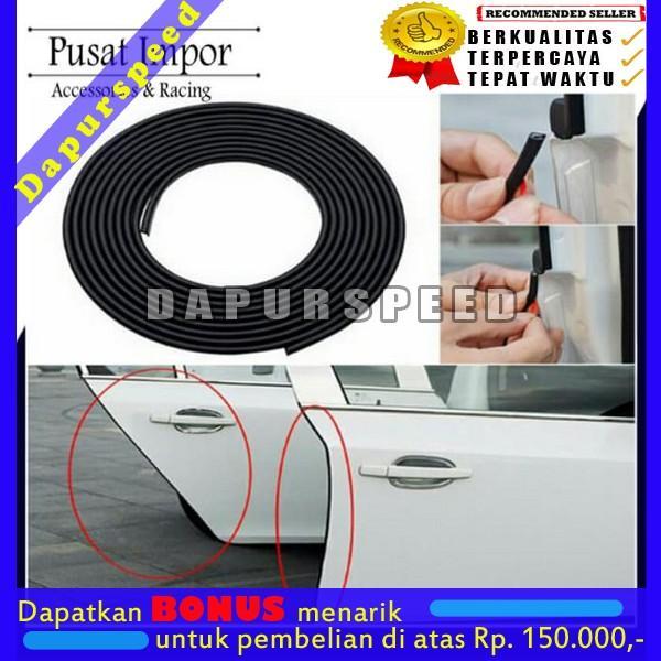 DPS00061 Strip karet Pintu 1m Strip Pintu Car All type Pelindung Pintu Black