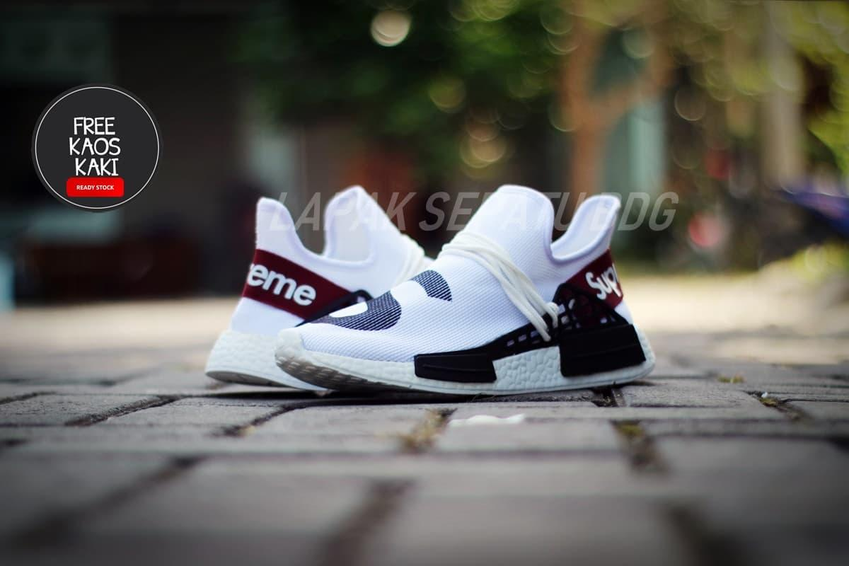 7d17e240949c8 sepatu sneakers Fashion Sneakers impor NMD Human Race X Supreme BEST SELLER  WORTHED TO BUY sepatu