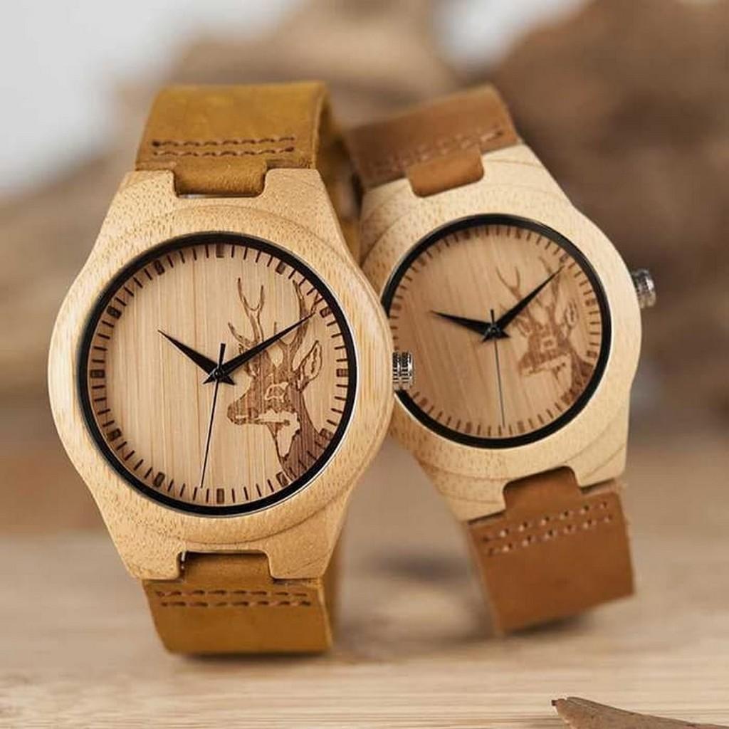 jam tangan couple / jam tangan couple anti air / jam tangan couple murah / jam tangan couple casio / jam tangan couple keren / jam tangan couple swiss army / jam tangan couple nama / Kayu Wooden Watch BOBO BIRD WN20