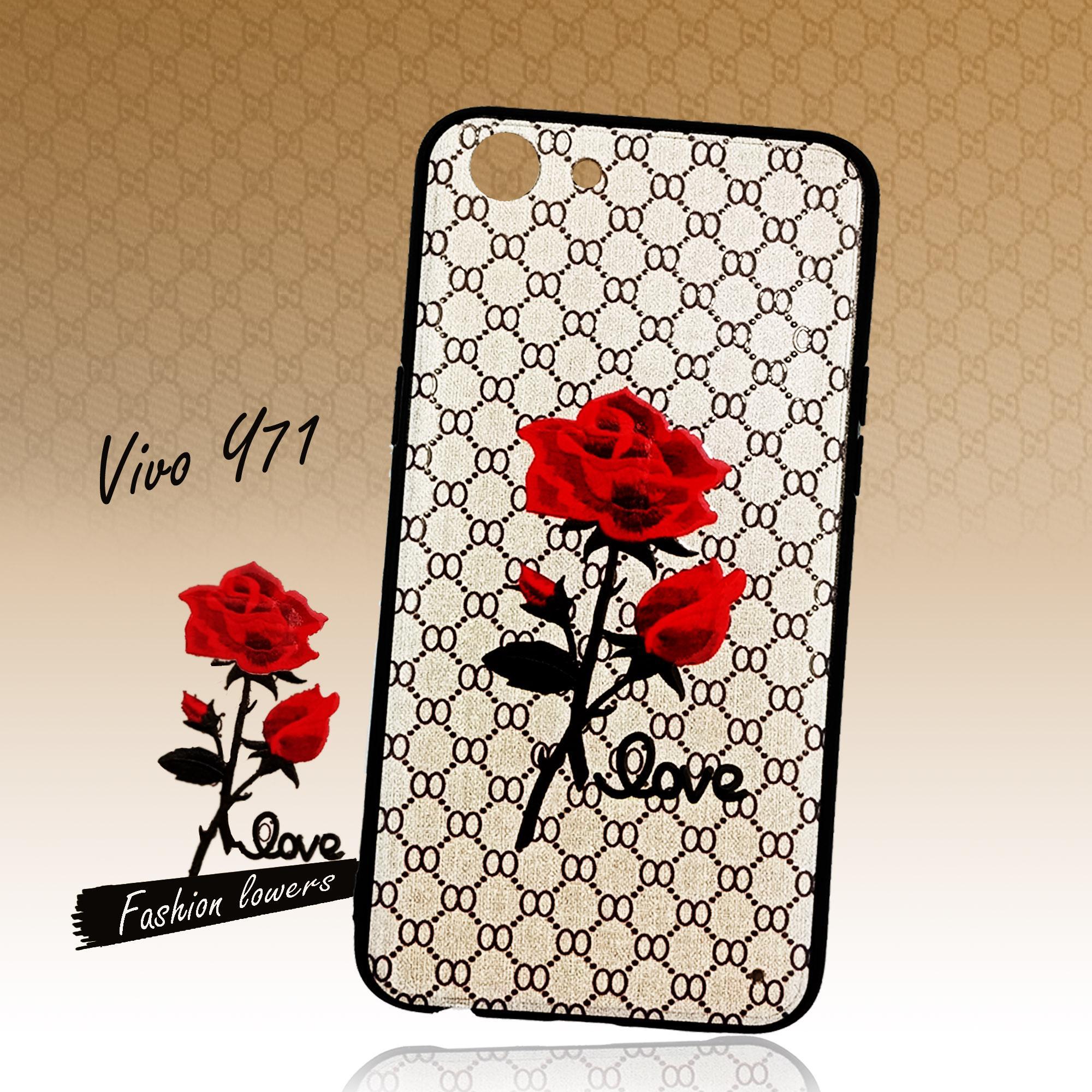 Marintri Case Vivo Y71 New Fashion Flowers