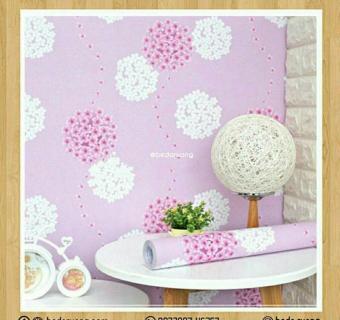 Pencarian Termurah Wallpaper Stiker Dinding Motif Dan Karakter Premium Quality Size 45cm X 10M Bunga Dandelion Pink sale - Hanya Rp43.644