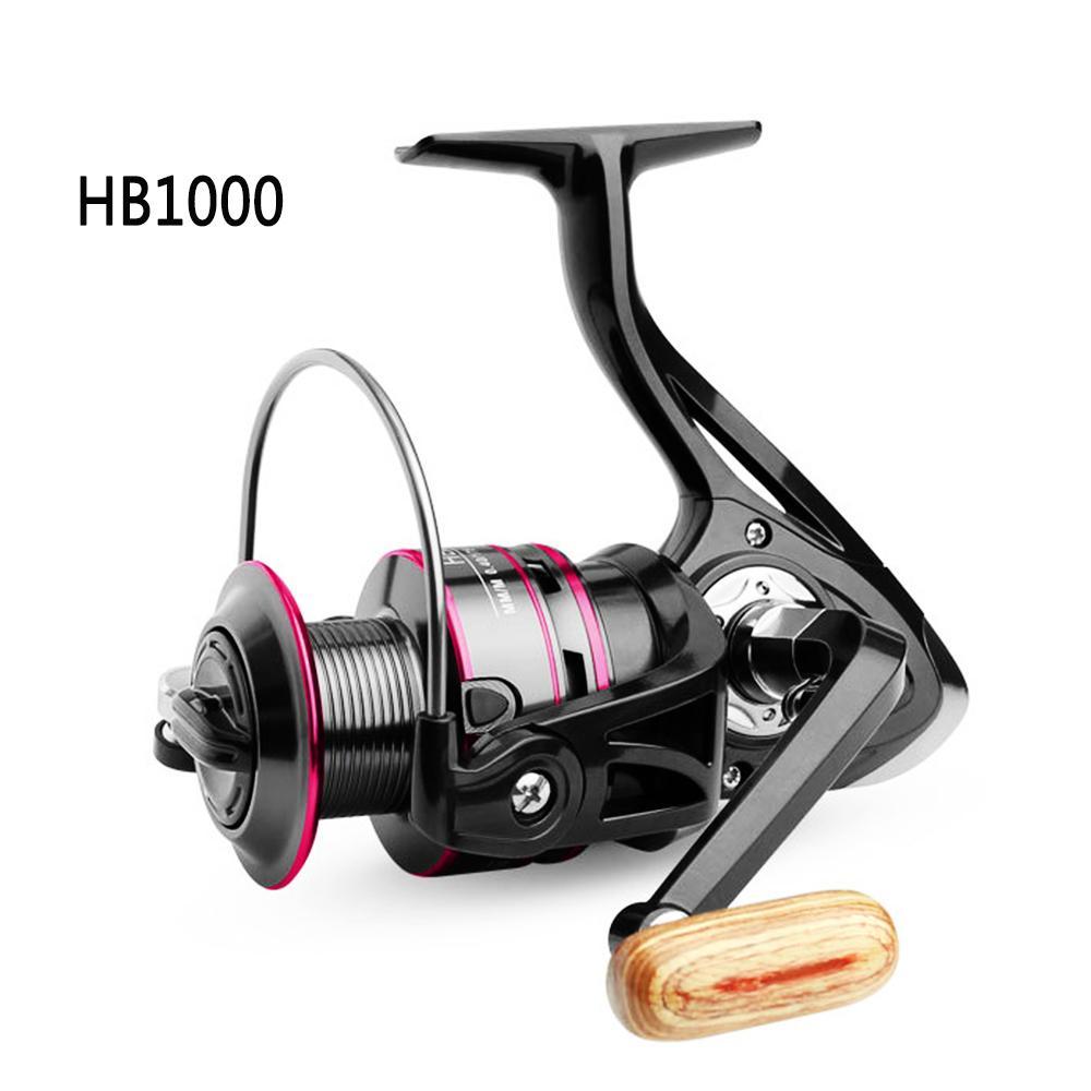Spinning Reel Pancing 12 Bantalan Bola Ringan dan Halus, HB1000 Untuk 6000 Series, Centron