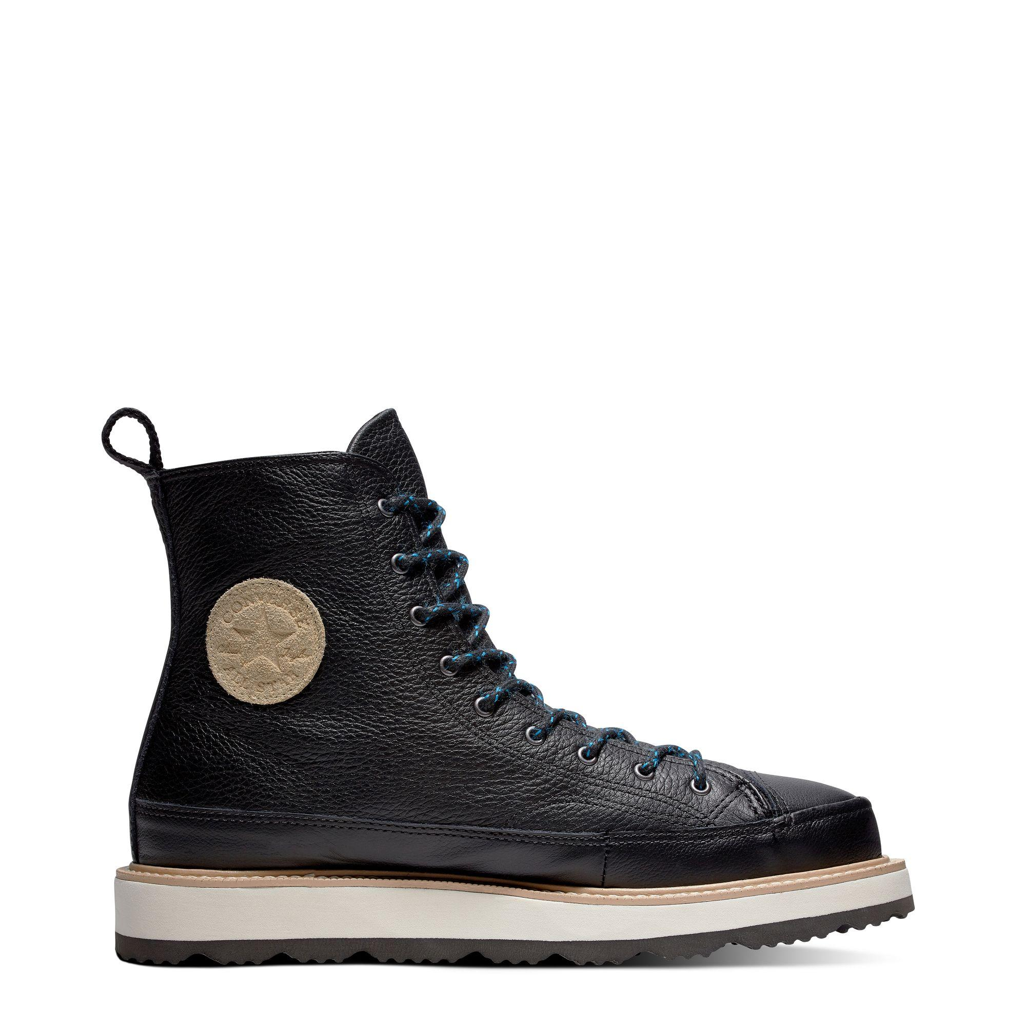 CONVERSE CHUCK TAYLOR CRAFTED BOOT - HITAM - CON162355C