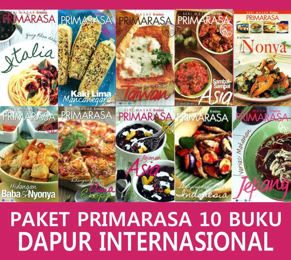 Paket Super Hemat 10 Buku Dapur Internasional By Feminagroup.