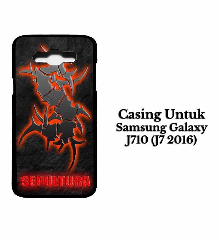 Casing SAMSUNG J7 2016 sepultura Hardcase Custom Case Se7enstores