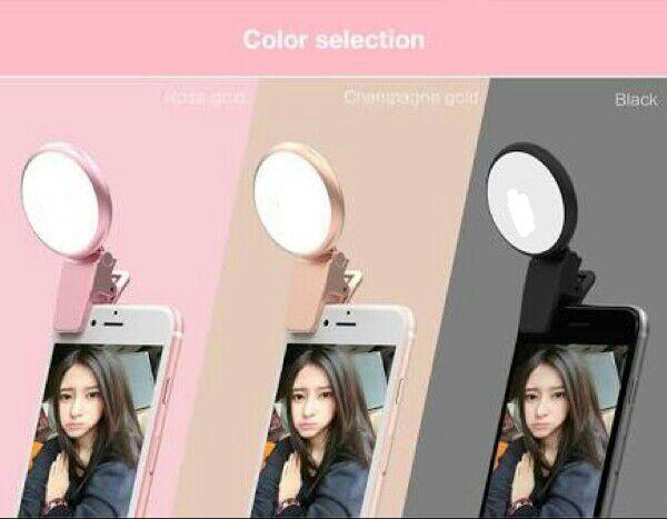 Ktb Lampu Portable Clip-On Mini Led Selfie Ring Lamp Fill-In Light Night Lampu Selfie Ring Untuk Fotografi Semua Smartphone Plus Usb Charger By Klik To Buy.