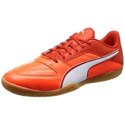 Puma Futsal Sepatu Gavetto II 104268 Tomat Ceri/Puma Putih/Shocking Oranye 23 Cm
