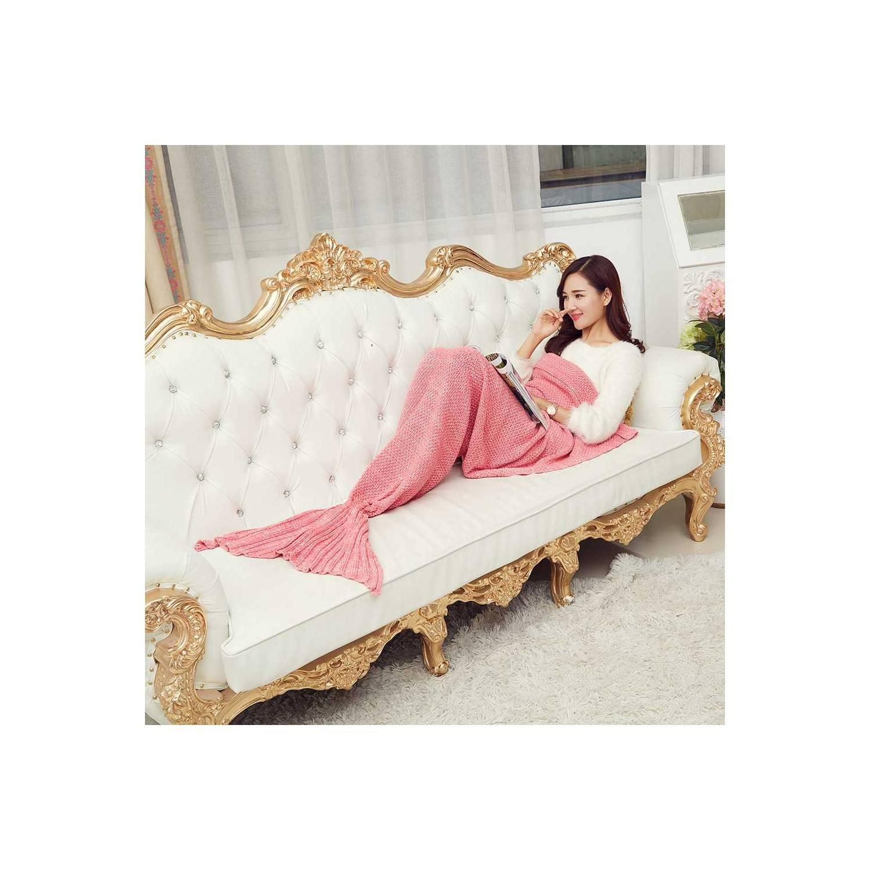 Selimut Rajut Model Putri Duyung