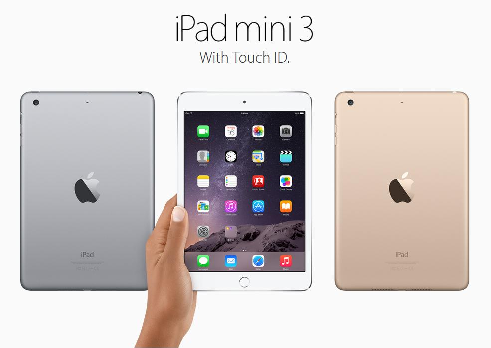 Apple iPad Mini3 Retina 4G+Wifi 16 GB