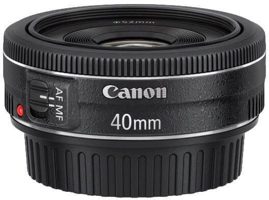 CANON LENS FIX EF-S 40MM F/2.8 STM