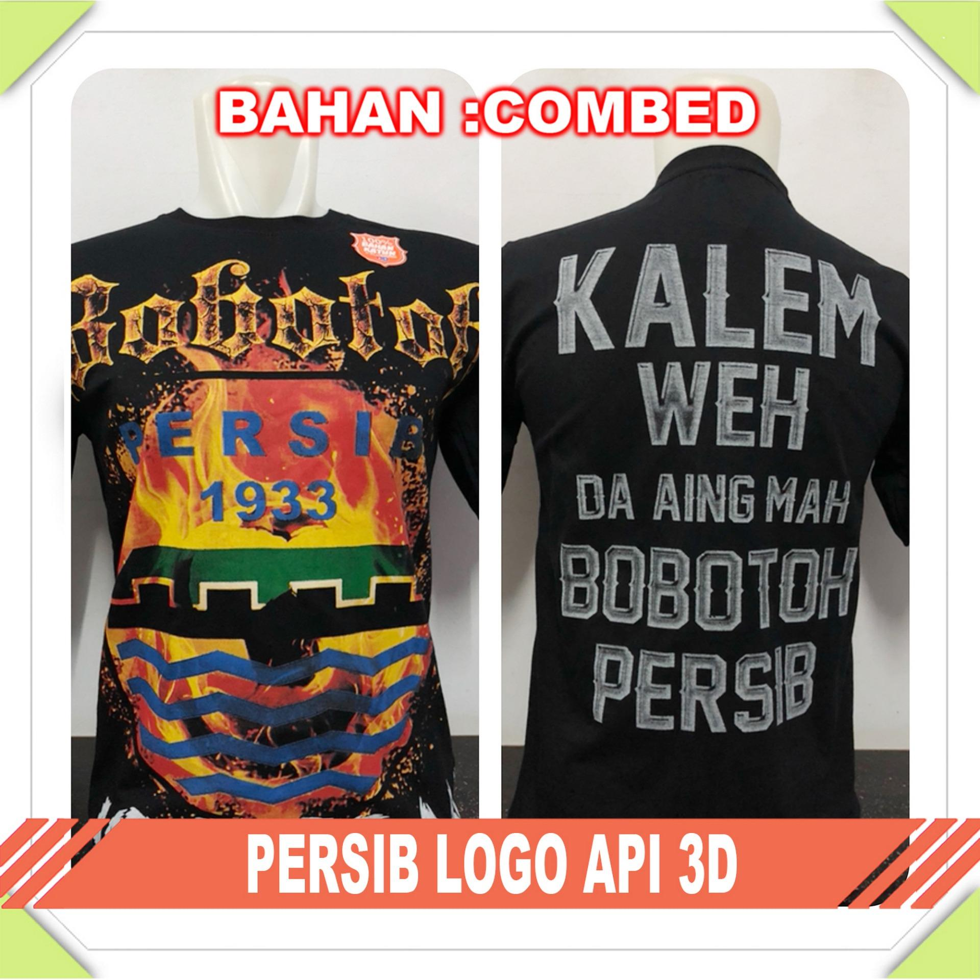 Anime Super - Kaos T-Shirt Distro / kaos Pria / Tshirt Pria / Distro Pria / Baju Pria Persib Logo A