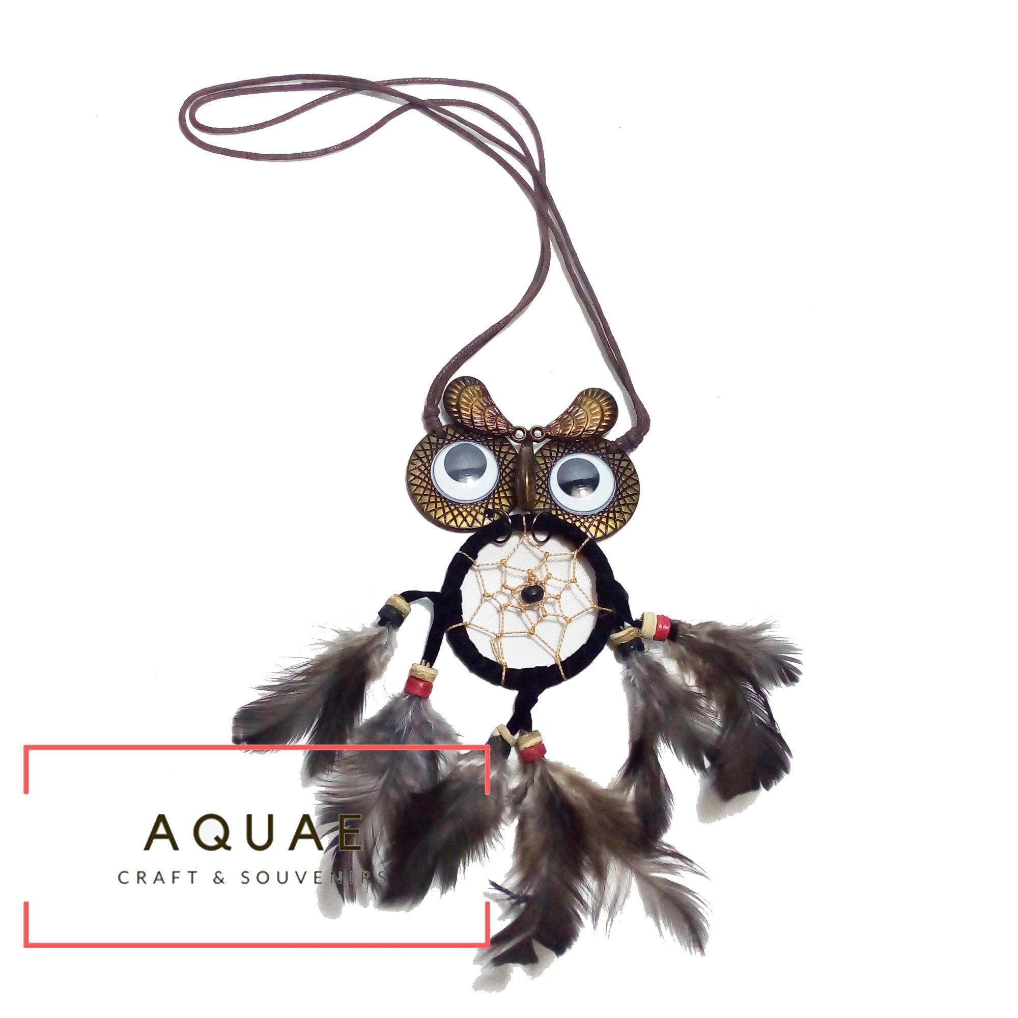 AQAUE - Aksesoris Kalung Wanita Model Dream Catcher